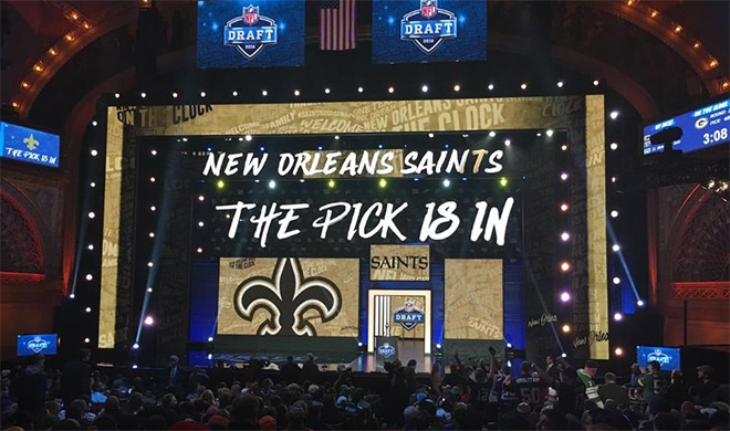 Draft Day para los New Orleans Saints