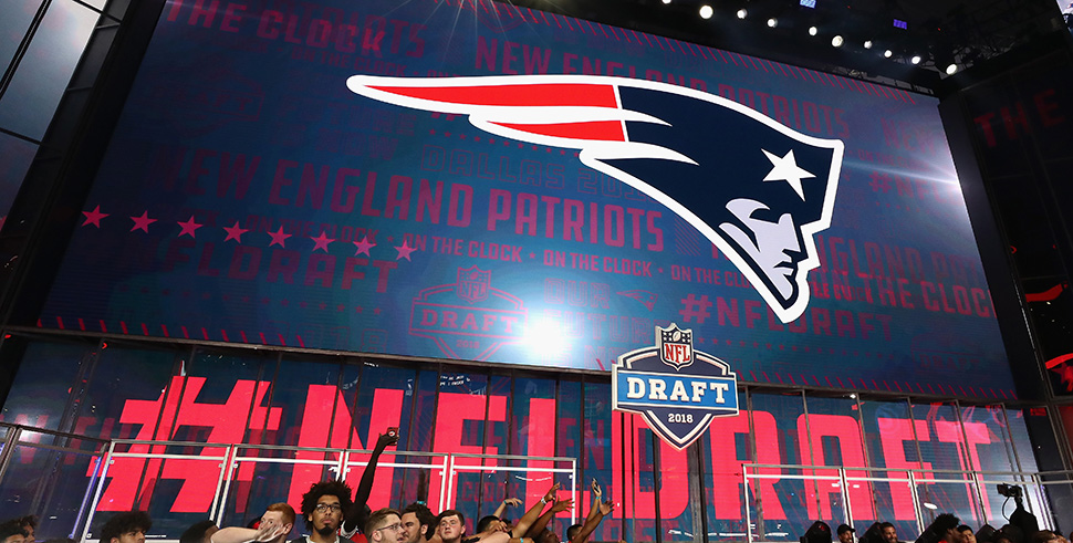 El draft 2018 de los New England Patriots