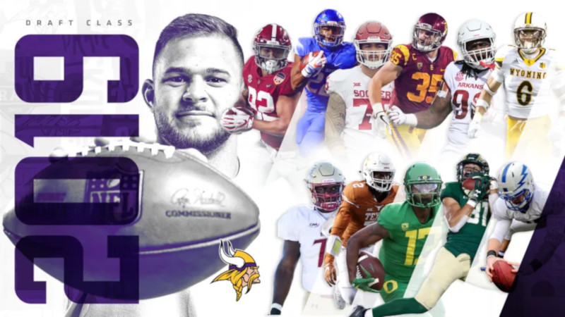 El Draft de Vikings de 2019