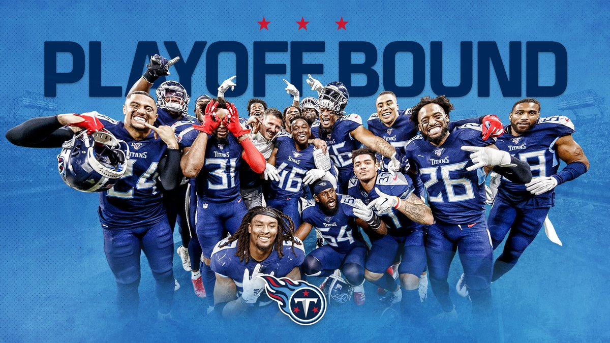 Titans y su carrera en playoffs