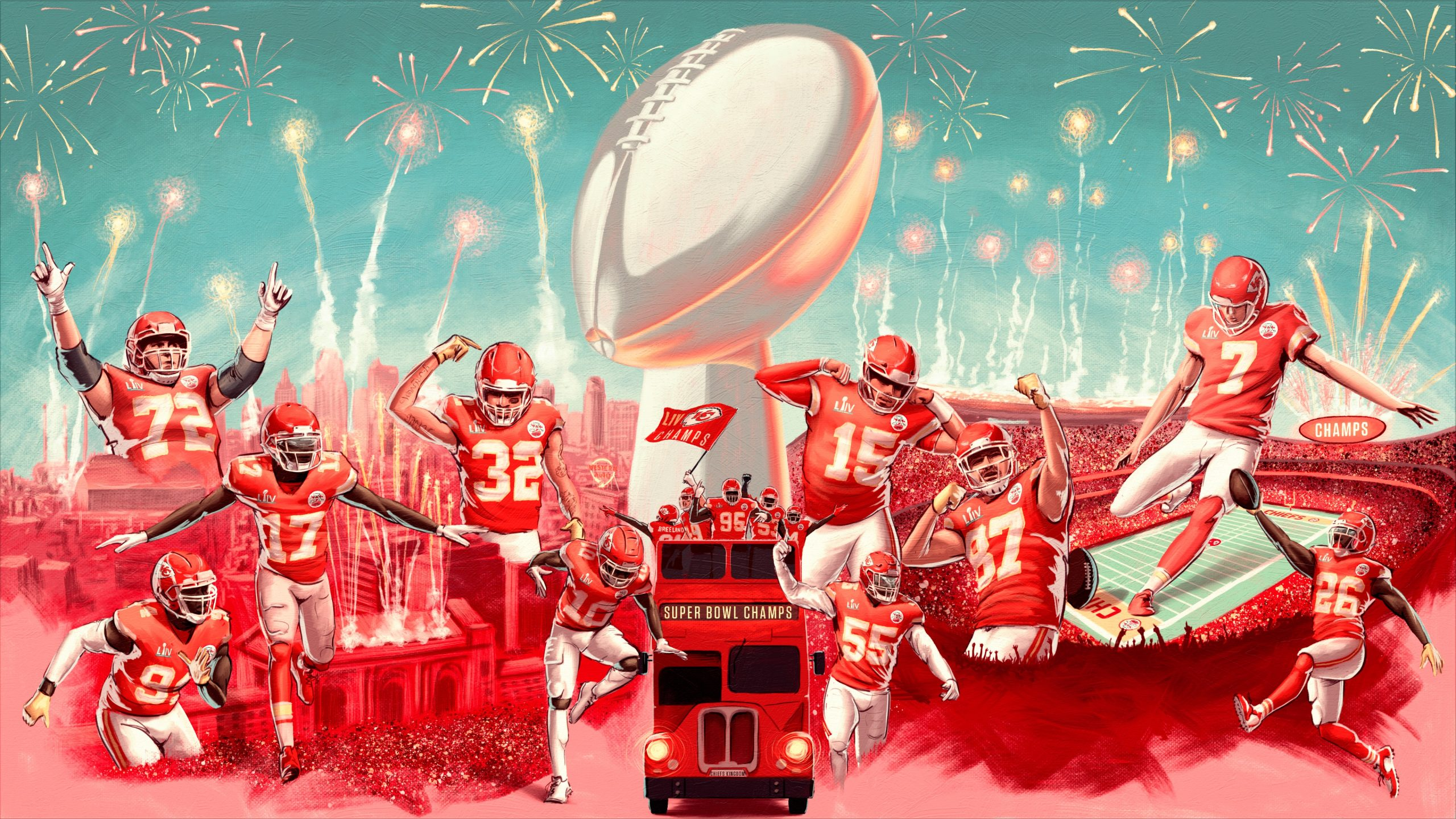 Los Kansas City Chiefs ganan la Súper Bowl
