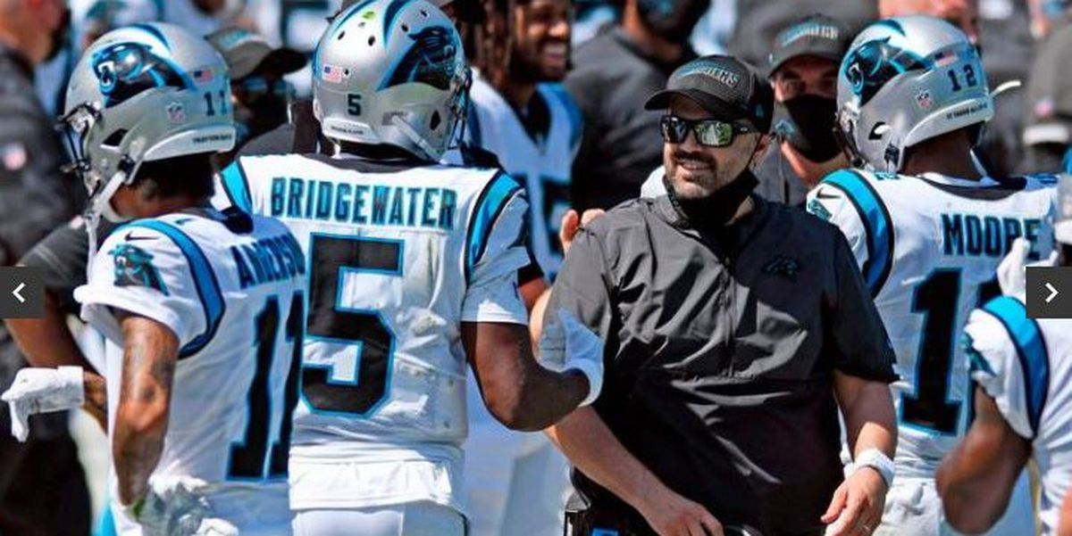 Carolina Panthers: reporte de media temporada